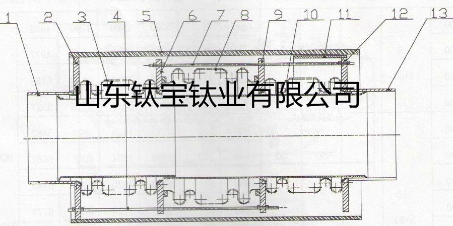 拉杆式直管压力平衡型膨胀节的结构原理
